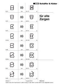 sch ffer k der fachhandel f r baubeschl ge g nzburg ersatzdichtungen f r stahlzargen. Black Bedroom Furniture Sets. Home Design Ideas